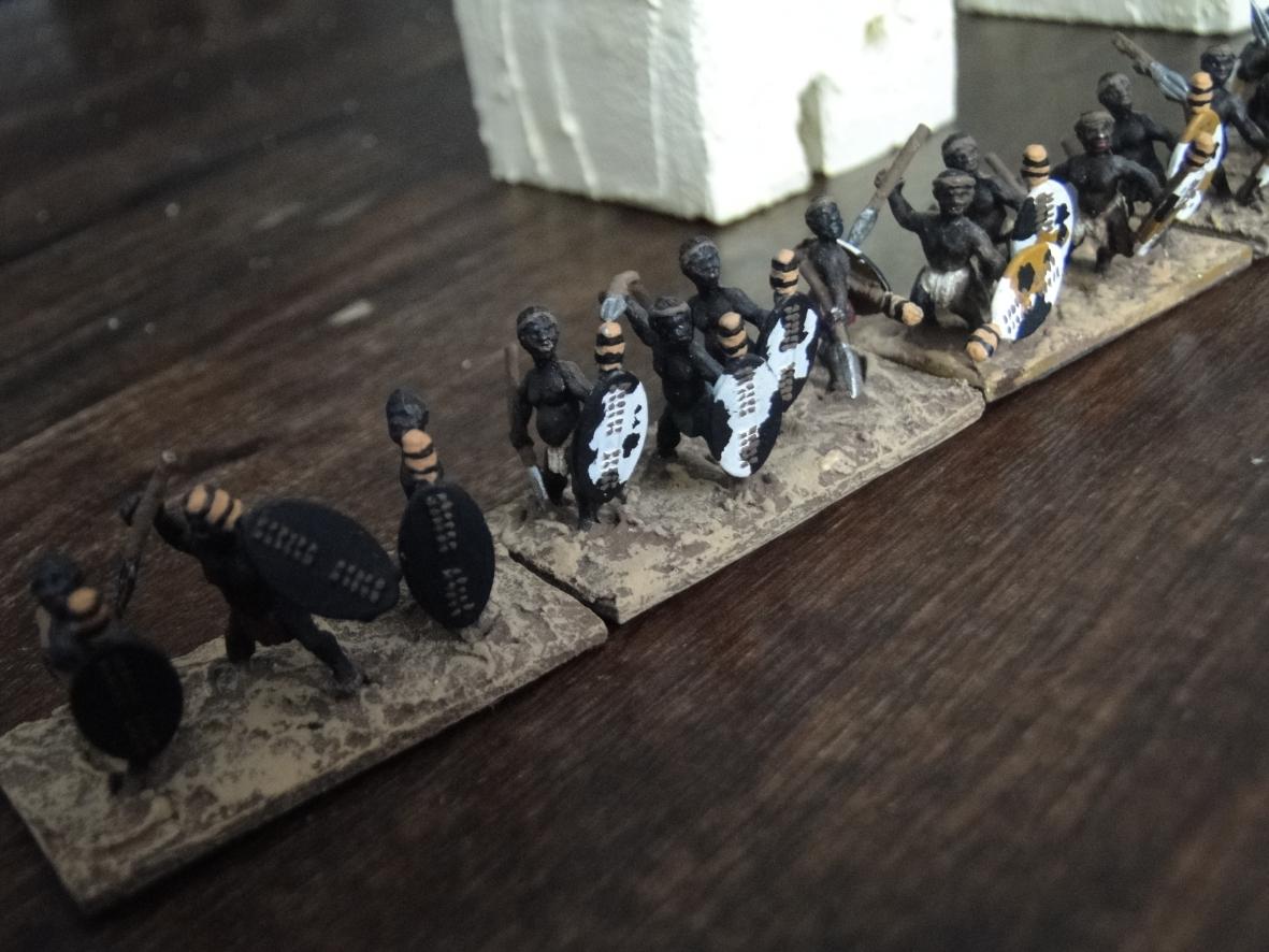 Une armée zoulou qui cherche à en découdre !
