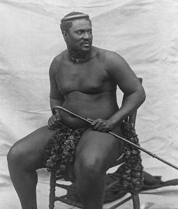 Cetshwayo en 1875