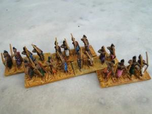 Archers Indiens solides