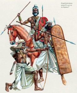 Archers, Fantassins et Cavaliers indiens