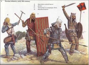 Illustration trouvée sur le net et issue d'une publication Osprey