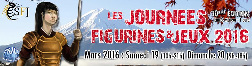 19 Mars 2016 - Journée Figurines et Jeux à Sartrouville