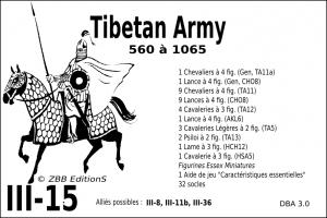 III-15 Tibetan Army