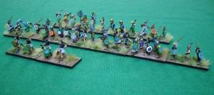 Une armée haute en couleur avec du BloB dedans