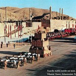 Ancient Achaemenian Persian Wheeled Siege Tower