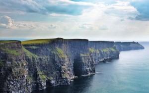 Cliffs of Moher, un endroit idéal pour débarquer.