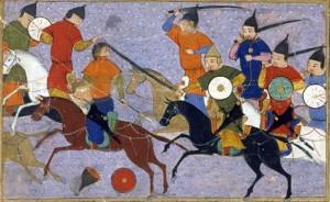 Bataille de Yehuling, Jami' al-tawarikh, Rashid-al-Din Hamadani, XIV° siècle
