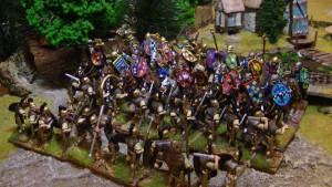 Romains & Gaulois se disputent une tête de veau un 21 janvier