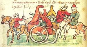 Les Coumans, Chronique des Radziwill, auteur inconnu, XV° siècle