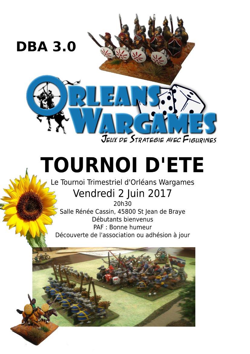 Orléans Wargames - Tournoi de l'été - 2 juin 2017 !