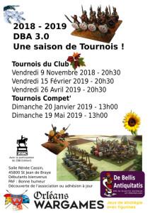 Tournois DBA à Orléans Wargames