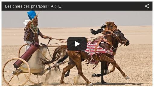 Les Chars des Pharaons sur Arte